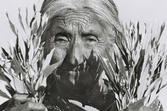 Mujer yumana de Baja California (La Jornada BC).