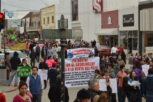 15 ENE. El día en que el centro de la ciudad se llenó de indignación.