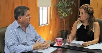 Dan seguimiento a proyectos de infraestructura para Ensenada