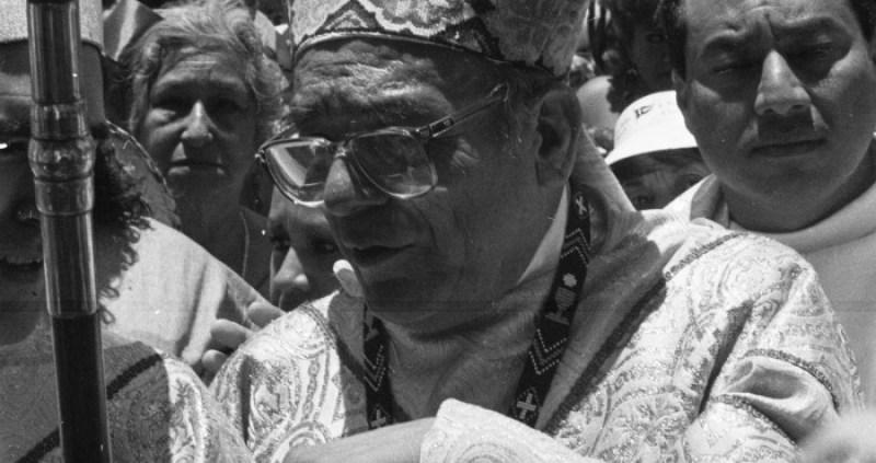 El Obispo de San Cristobal, Samuel Ruiz, falleció en enero de 2011 en la Ciudad de México. Foto: Cuartoscuro/Archivo
