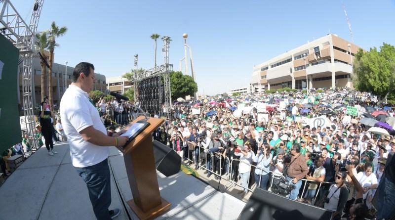 «Kiko» minimiza demandas penales y juicio político en su contra y dice que el Rector Valdez actúa «por intereses ocultos»