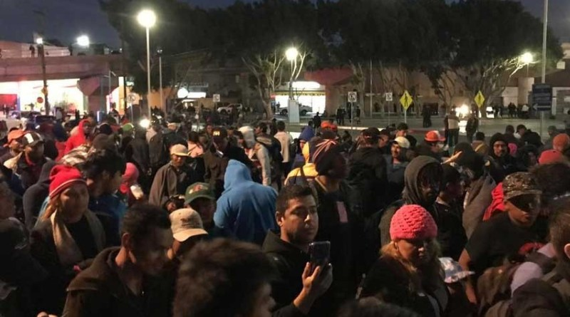 DH pide medidas cautelares urgentes a gobierno de BC para cientos de migrantes en Tijuana