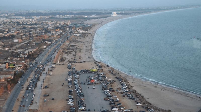 La CESPE vuelve a derramar en la Bahía de Ensenada miles de litros de aguas negras sin tratar