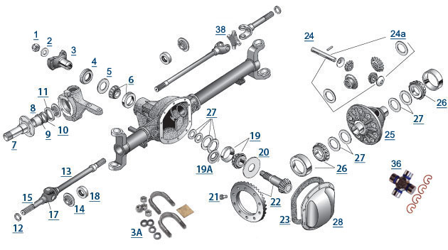 Chevy 4x4 Front Axle Diagram, Chevy, Free Engine Image For