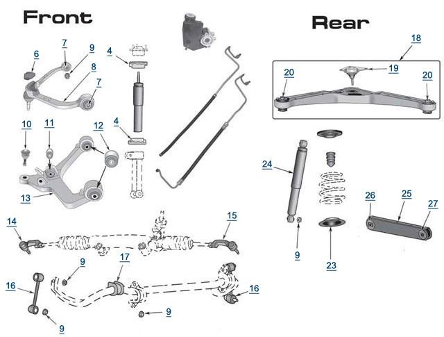 Jeep liberty chassis diagram