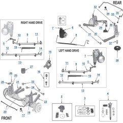 Front End Diagram Wiring For Utility Trailer With Electric Brakes 2000 Jeep Grand Cherokee All Data Wj Replacement Parts 4wd Com 1999
