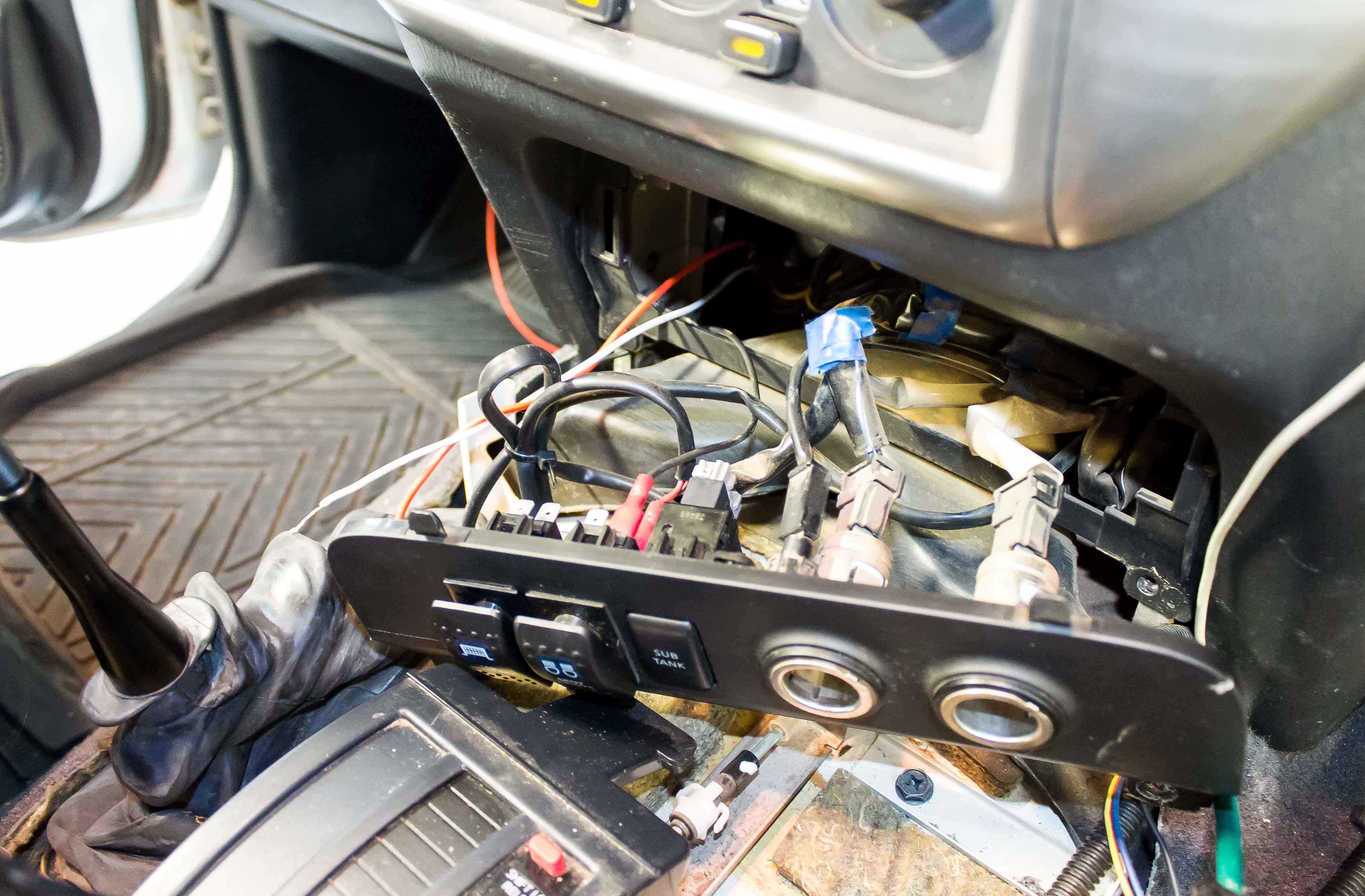light bar wiring diagram high beam 3 way switch let there be install and product review 4wd addiction