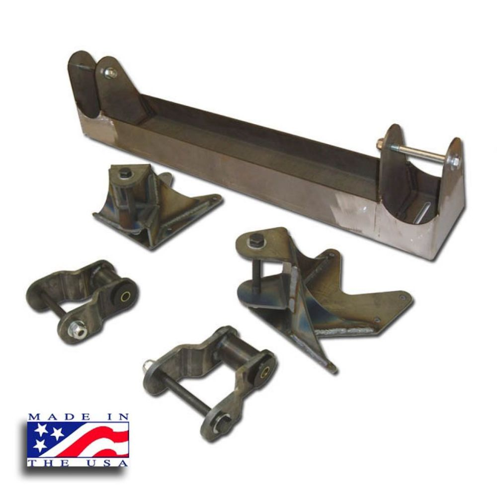 medium resolution of chevy solid axle conversion hanger kit