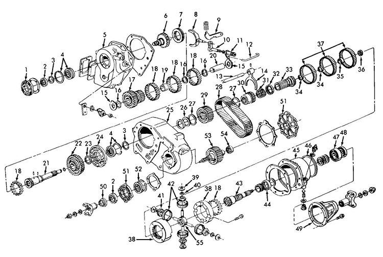 New Process NP203 Transfer Case Specs