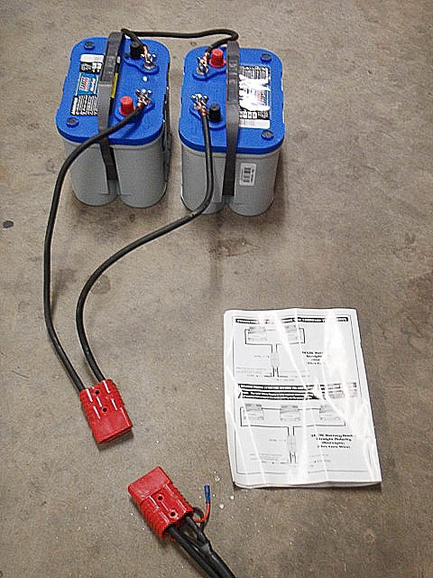 Wiring 12 Volt Batteries Series Parallel
