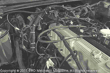 mopar performance ignition wiring diagram human spine bones vertebrae moses ludel's 4wd mechanix magazine - jeep fuel pressure requirements ...