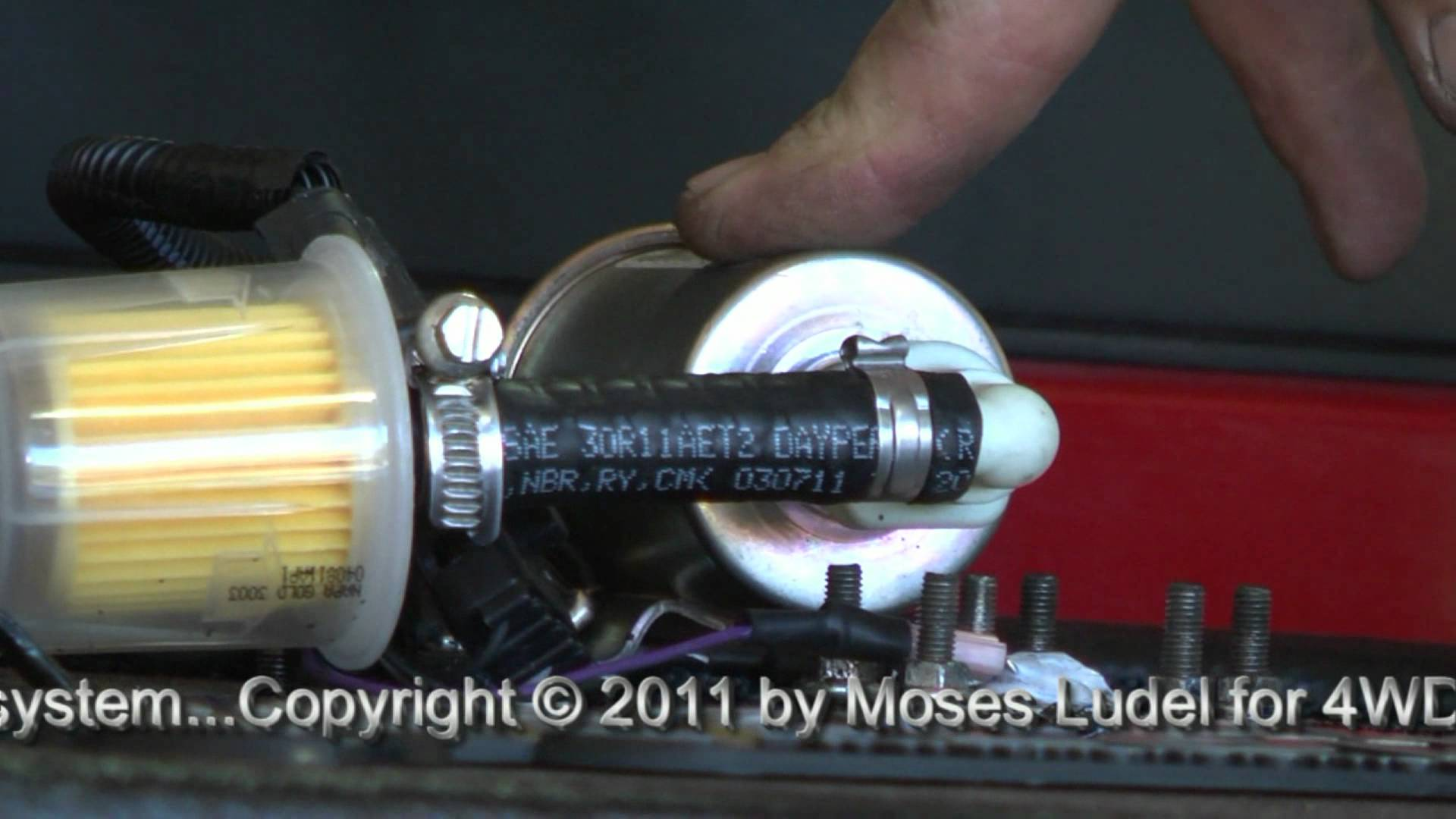 hight resolution of moses ludel s 4wd mechanix magazine dodge ram 3500 makeover transfer flow auxiliary fuel tank