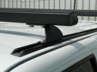 Red Dirt Roof Rack Kit 2 Bar Track Mount suits Toyota