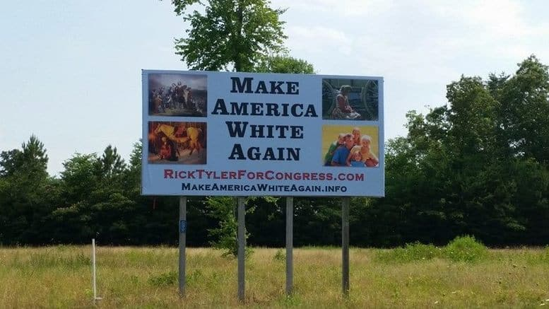 "Donald Trump Inspired Racism, ""Keep America White"""