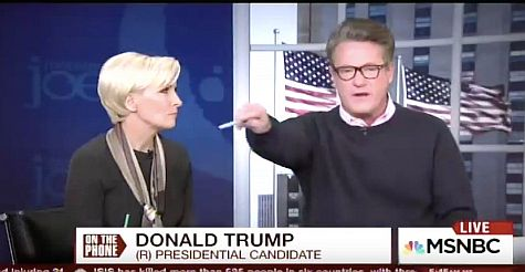 Joe Scarborough Finally Grows Some Balls
