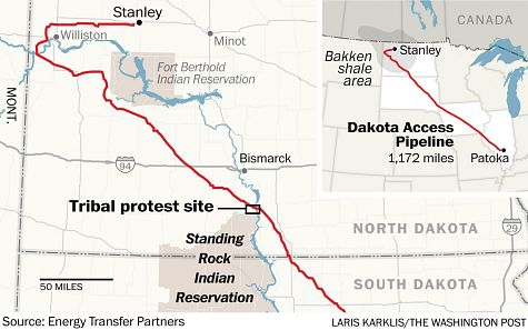 Dakota Access Pipeline: Threat to Native American Rights