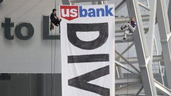 Dakota Access Pipeline Protesters Interrupt Vikings Game