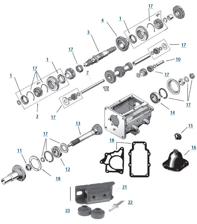 Cj5 Transmission Diagram : 24 Wiring Diagram Images