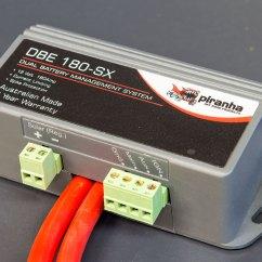 Piranha Dual Battery System Wiring Diagram 3 Ways Switch Isolator 44
