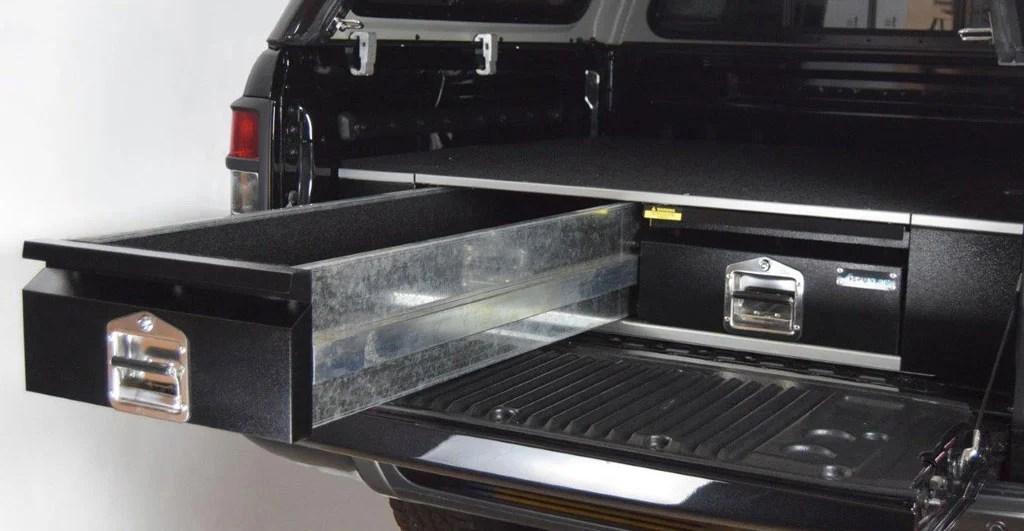 metal kitchen shelves slate floor ford ranger new bespoke drawer system - 4x4at blog