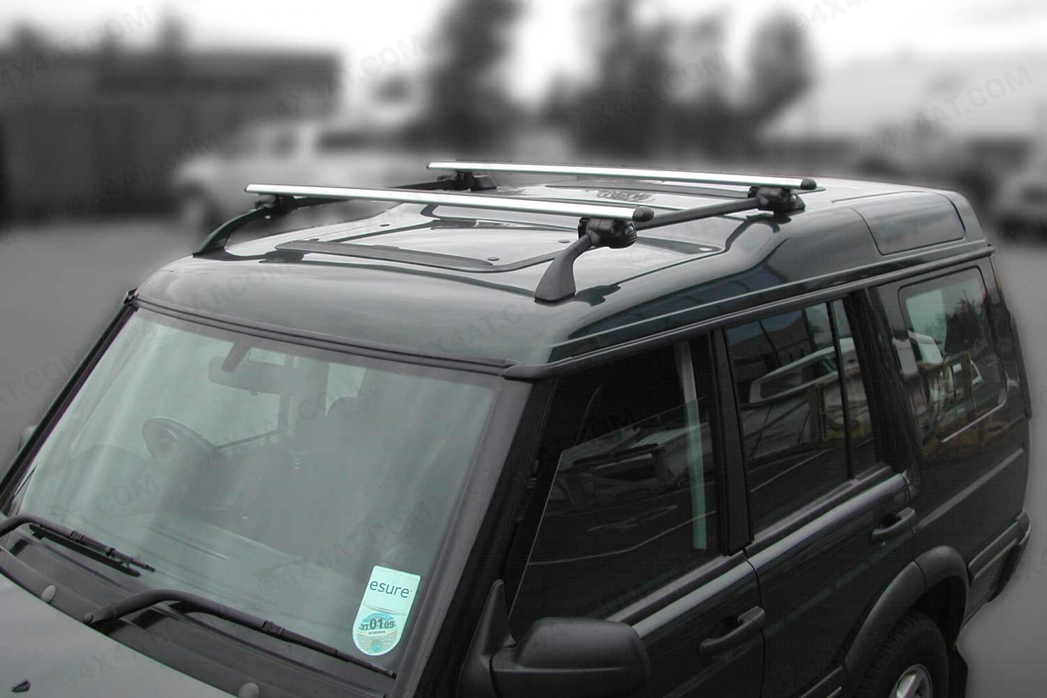 land rover discovery mk1 3 cross bars for roof rails