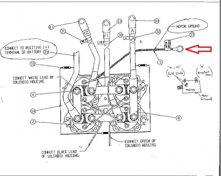 Warn M8000 Winch Wiring Diagram 31 Wiring Diagram Images