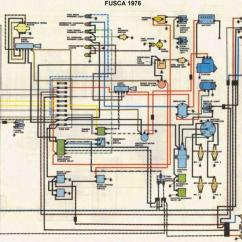 Ford Puma Wiring Diagram Isuzu Npr Alternator Parte Eletrica Do Fusca