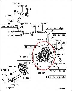Bomba Injetora Original Mitsubishi Pajero Sport/Gls 2.8