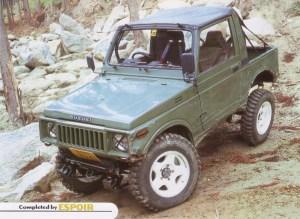 ジムニーSJ30 トライアル仕様車