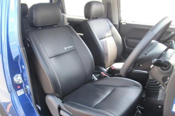 ジムニーJB23-7~8型 クロスアドベンチャーXC 運転席・助手席シート