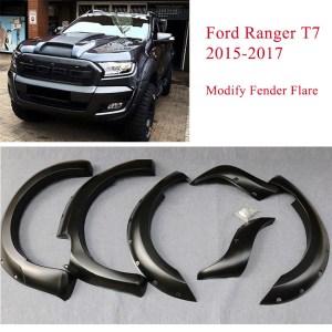 Ford Ranger T7 modify fender flare
