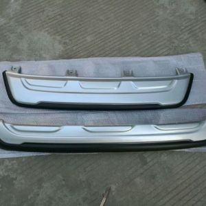Front and rear bumper guard for fortuner 2016