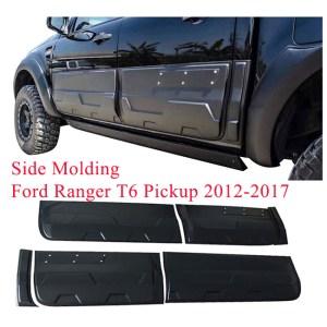 Side molding for Fit Ford Ranger T6 Pickup 2012-2017