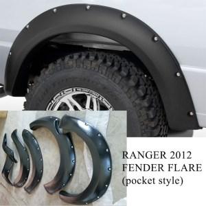 Ford Ranger T6 2012-2014 Wheel Arch Fender Flare
