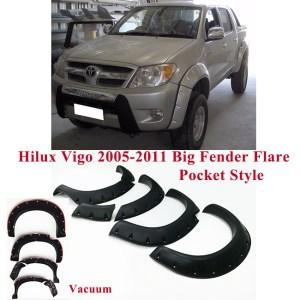 hilux vigo 2005 big vacuum fender flare pocket style