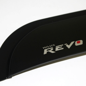 sun visor black for hilux revo
