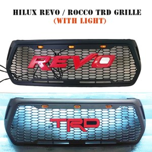 HILUX ROCCO TRD GRILL WITH LIGHT