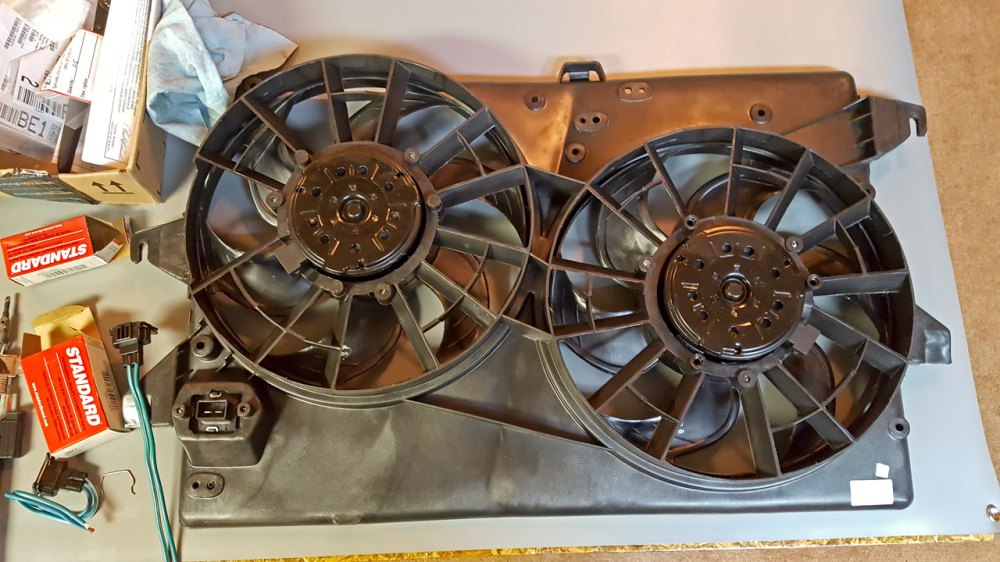 medium resolution of 1999 montero sport limited build ford contour cooling fans