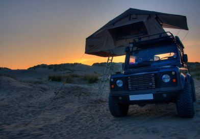 Direct 4×4 Three-man expedition Roof tent