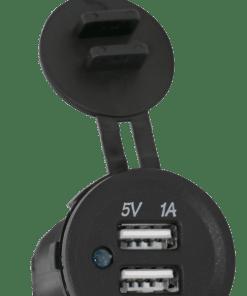 Lumeno Dual USB Charger Socket