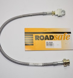 braided extended brake line front patrol gu non abs 3 4in lift  [ 1600 x 1064 Pixel ]