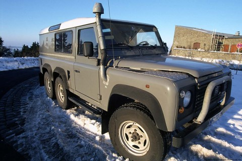 Manfred s 6x6 Land Rover