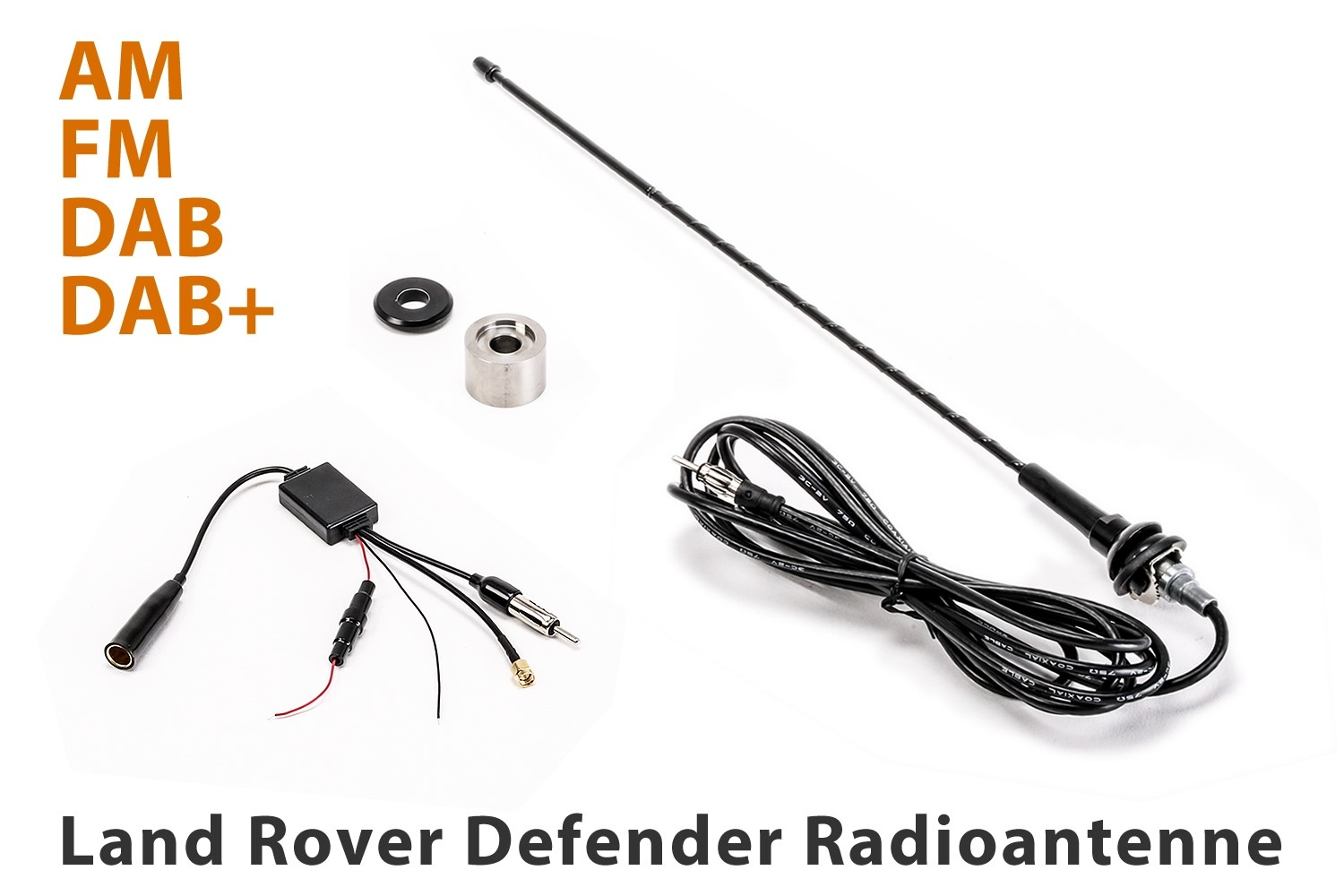 4x4 Outdoor Tuning :: Hirschmann Radio Antenna for Land