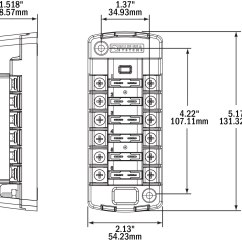 Blue Sea Wiring Diagram Jvc Kd R200 2 St Blade Fuse Block Bs5035 4x4overlander