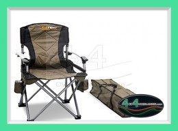 oztent king kokoda chair review white swivel desk chairs gecko stretcher - 4x4overlander