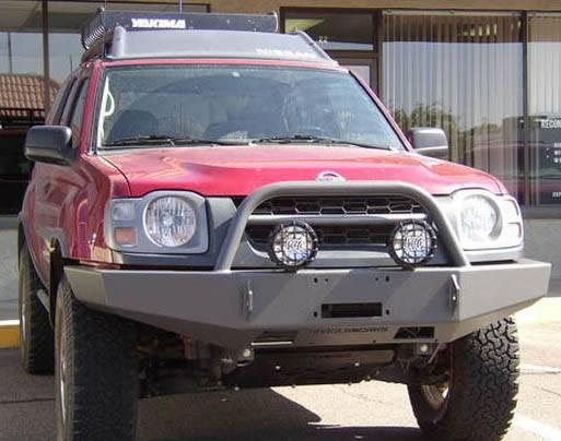 4x4 Parts Xterra Front Winch Mount Bumper Apsw02xtwbb
