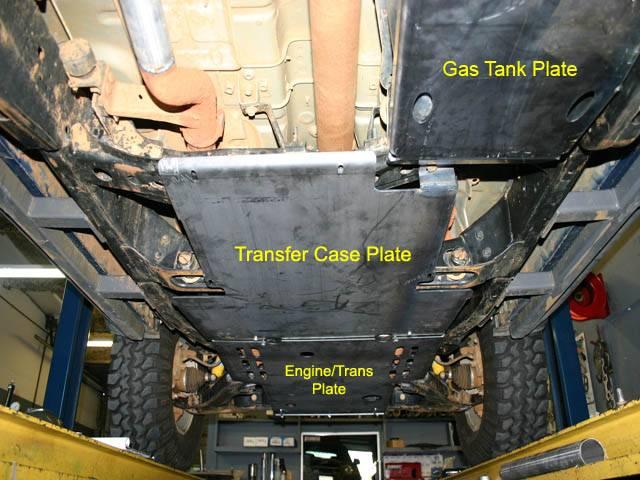 4x4 Parts  Xterra Engine Transmission Skid Plate