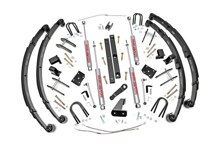 4.5IN JEEP X-SERIES SUSPENSION LIFT KIT (MILITARY WRAP