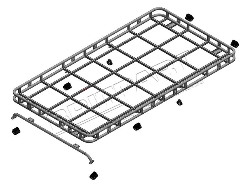 Dachgepäckträger Defender 90, Safety Devices, Land Rover