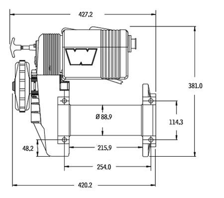 Warn winch M8274-50 24V